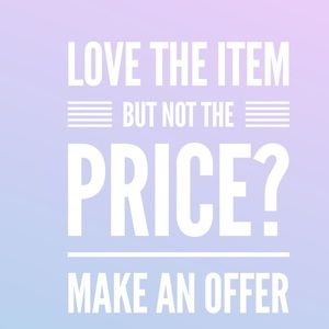 All reasonable offers considered! ❤️
